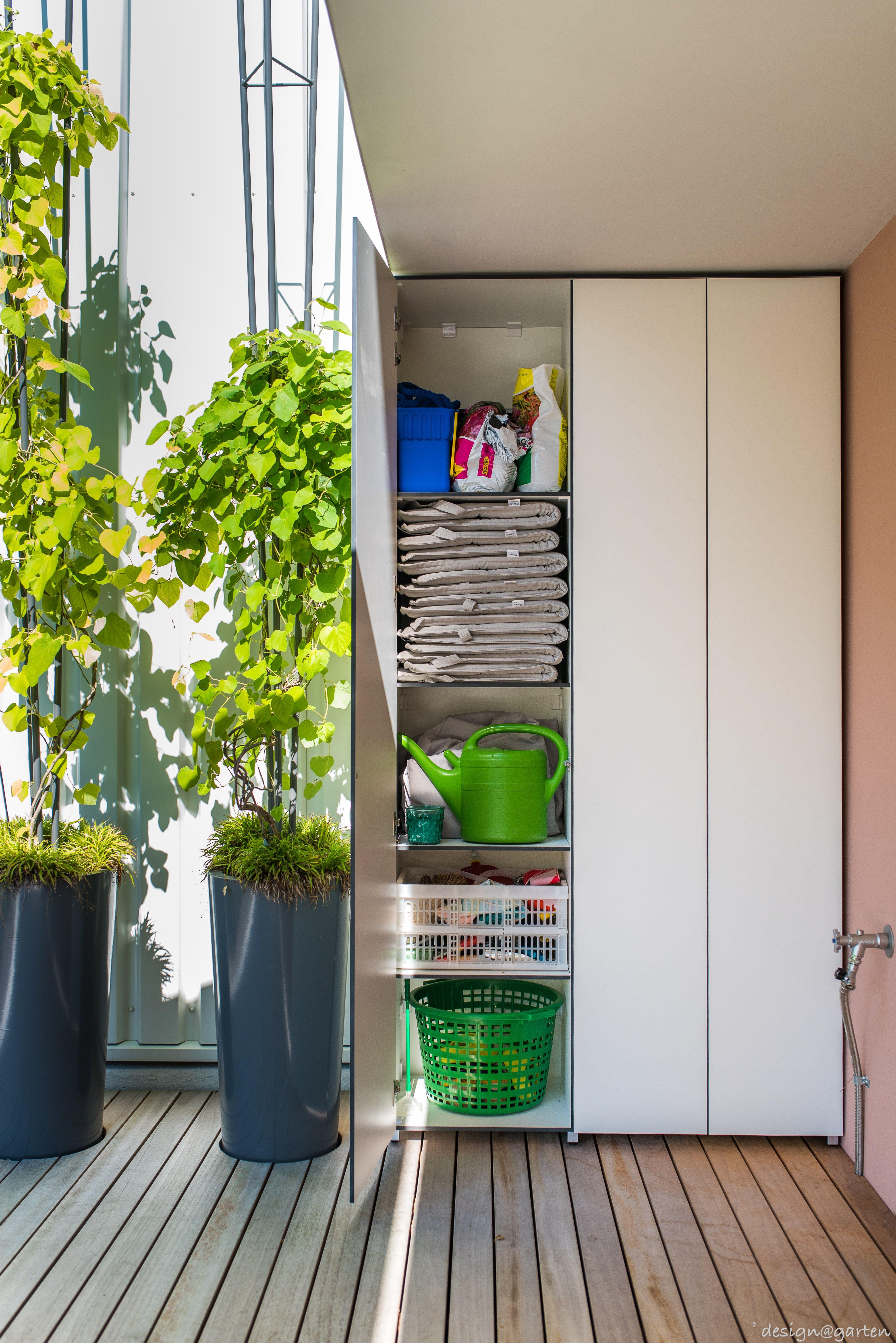 Terrassenschrank @_win nach Maß by design@garten in Rheinfelden ...