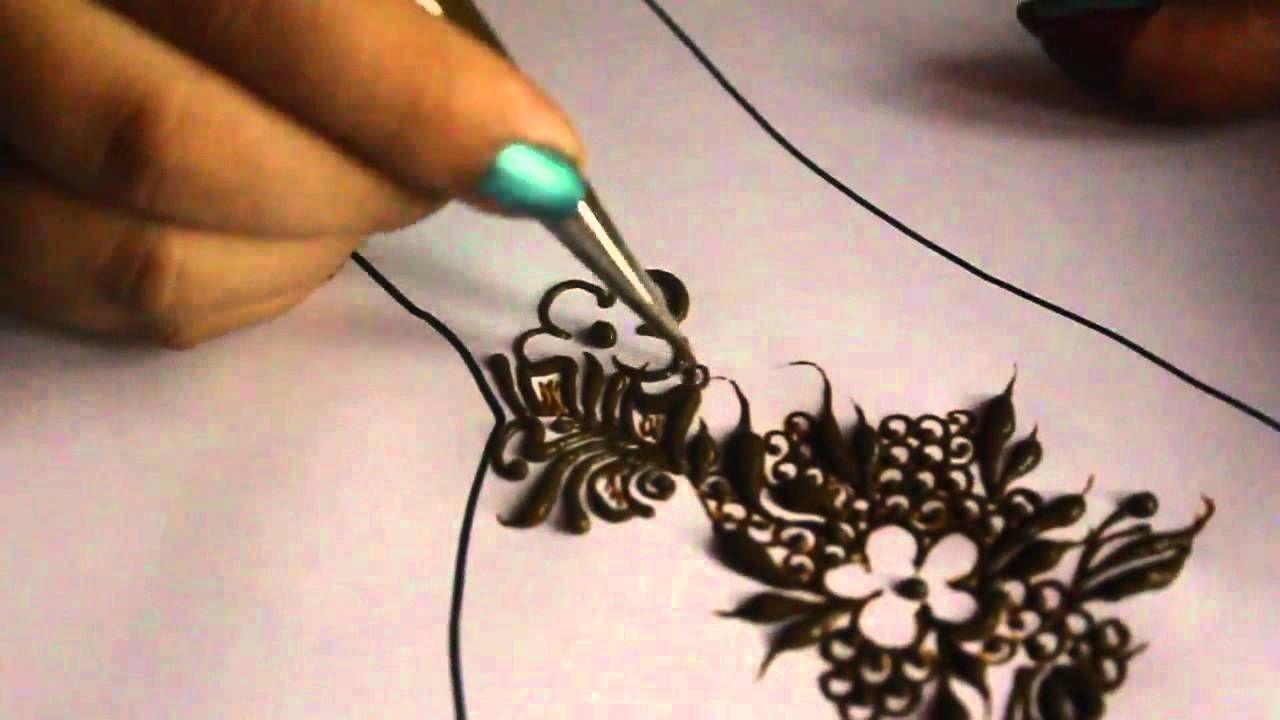 Emirati Henna Design