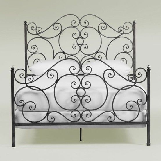 Ethan Allen S Iron Scroll Bed 1 199