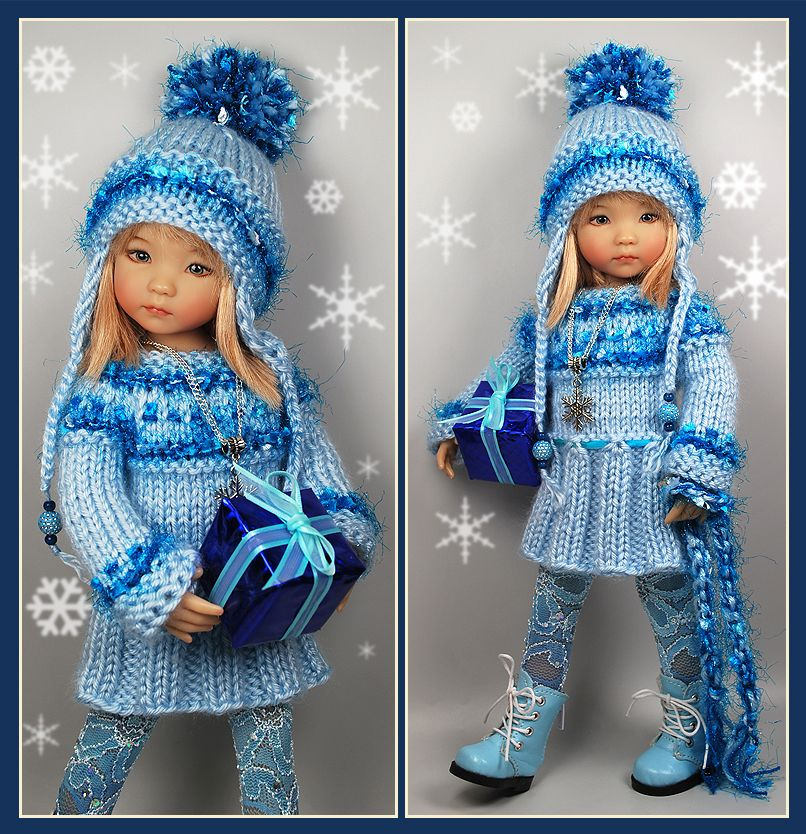 Blue Winter Outfit from maggie_kate_create sold BIN $95.00 on 11/22/14.