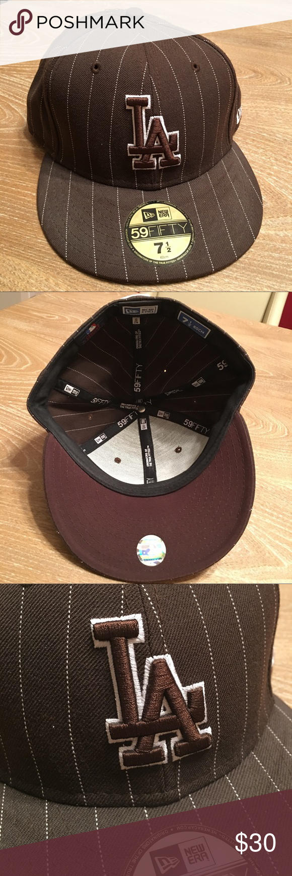 New Era 59fifty Fitted Hat La Dodgers Pinstripes Fitted Hats New Era 59fifty Urban Outfitters Accessories