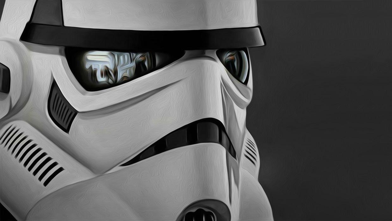 Stormtrooper closeup