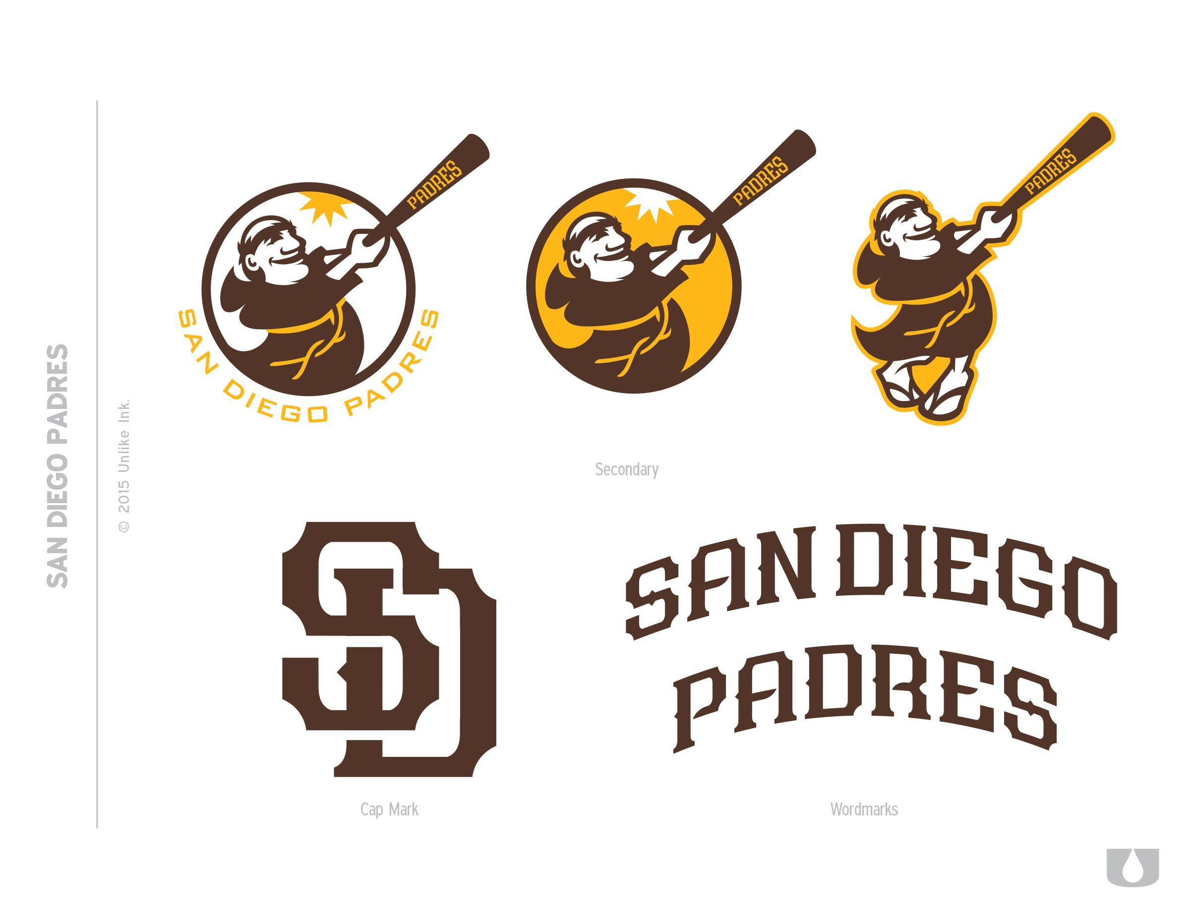 f4ffb12142a2c6 Even more uniform mock-ups in old Padres colors - Gaslamp Ball ...