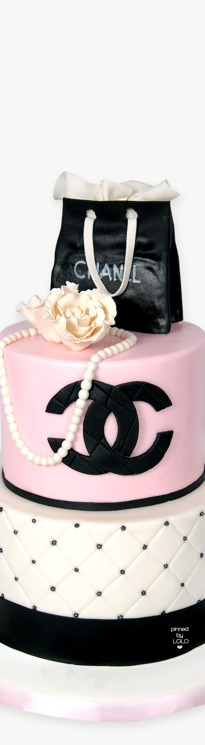 Chanel Cake Lolo Prissy Sassy Chic In 2018 Pinterest