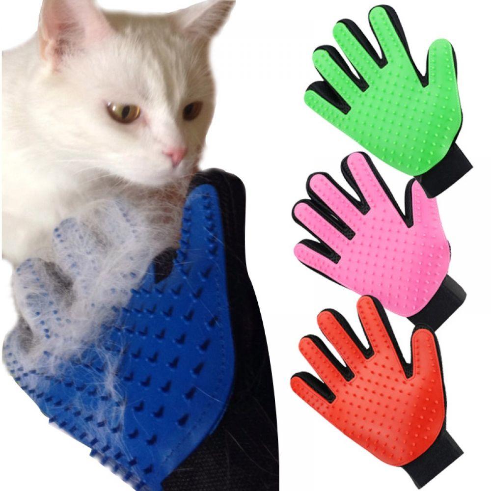 De Shedding Brush Glove For Animal Cat Supplies Pet Gloves Hair