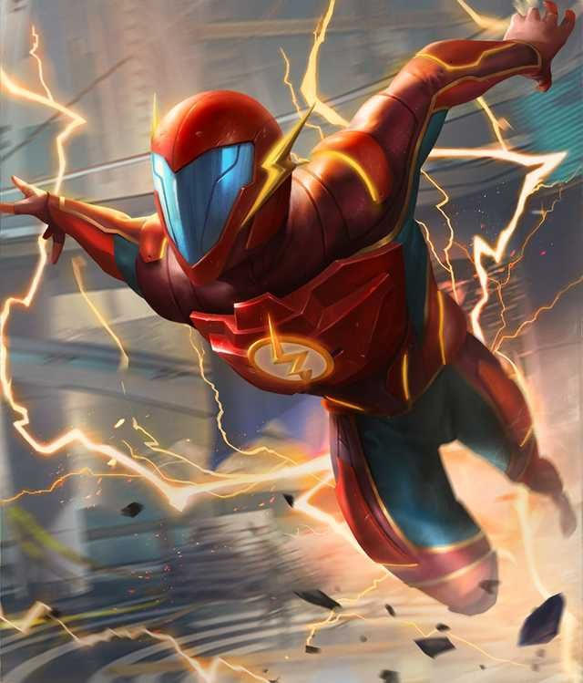 Injustice 2 Mobile Roster Flash Comics Flash Characters Injustice 2 Flash