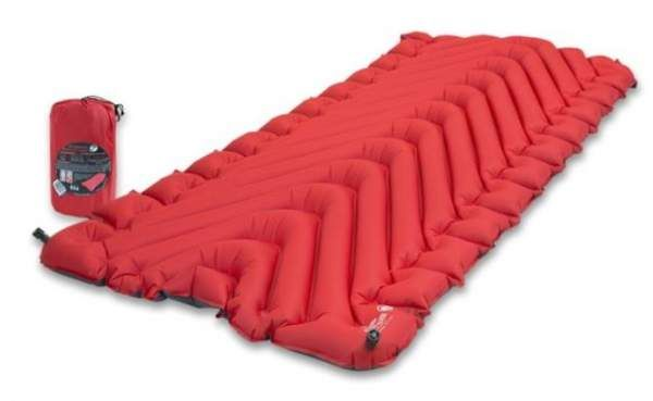 Insulated Static V Luxe Sleeping Pad Red 2020 Discount