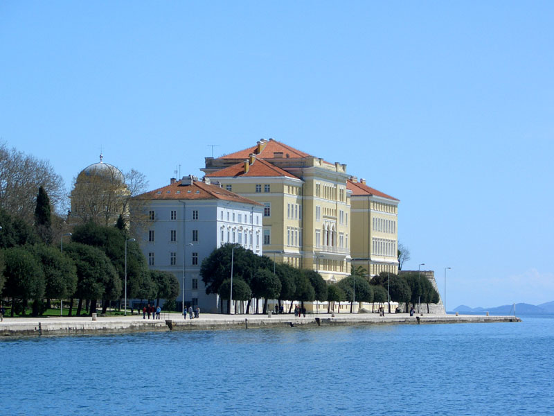 Zadar Sveuciliste Zadar Wikipedia Zadar Croatia Travel Walking Tour