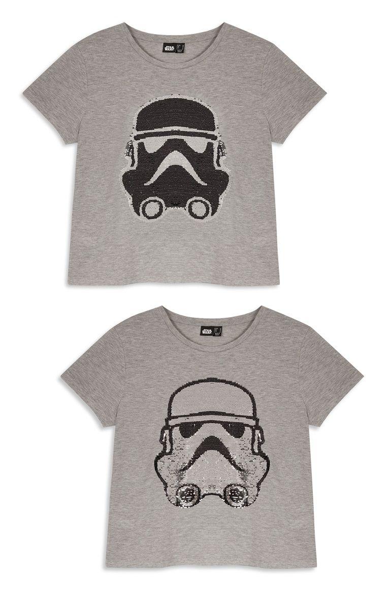 014edd4428050 Primark - women s Stormtrooper sequin t-shirt