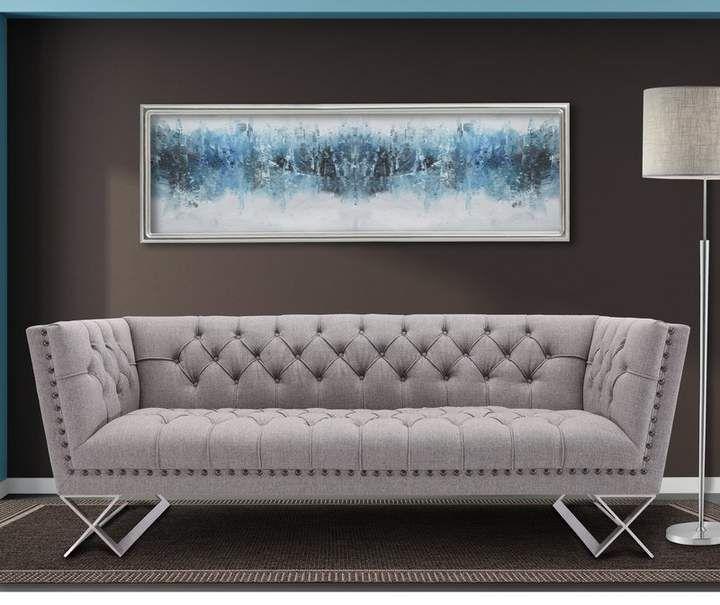 Willa Arlo Interiors Borchert Contemporary Chesterfield Sofa ...