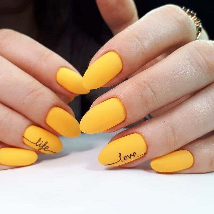 30 Adorable Nail Art Designs Of 2020 Ideas Mama Yellow Nails Design Yellow Nails Yellow Nail Art