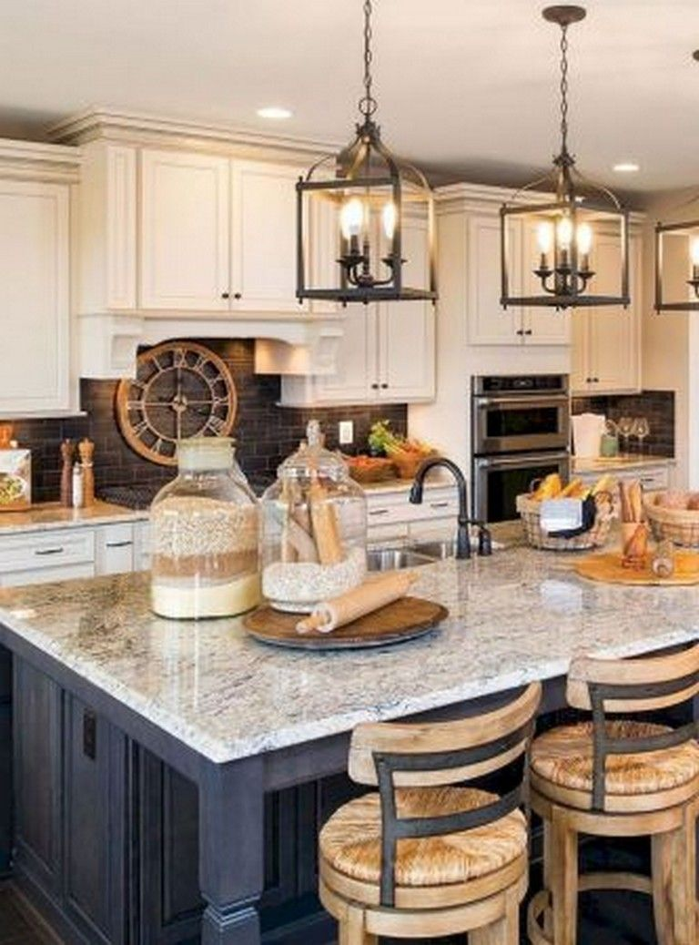 50+ Insane Farmhouse Kitchen Makeover Ideas - Page 39 of 55 #farmhousekitchencolors