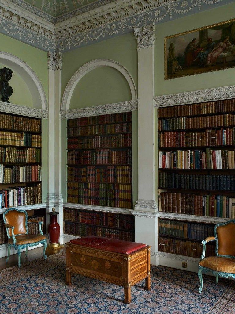 Olkd Study Room: Old Library – Harewood House
