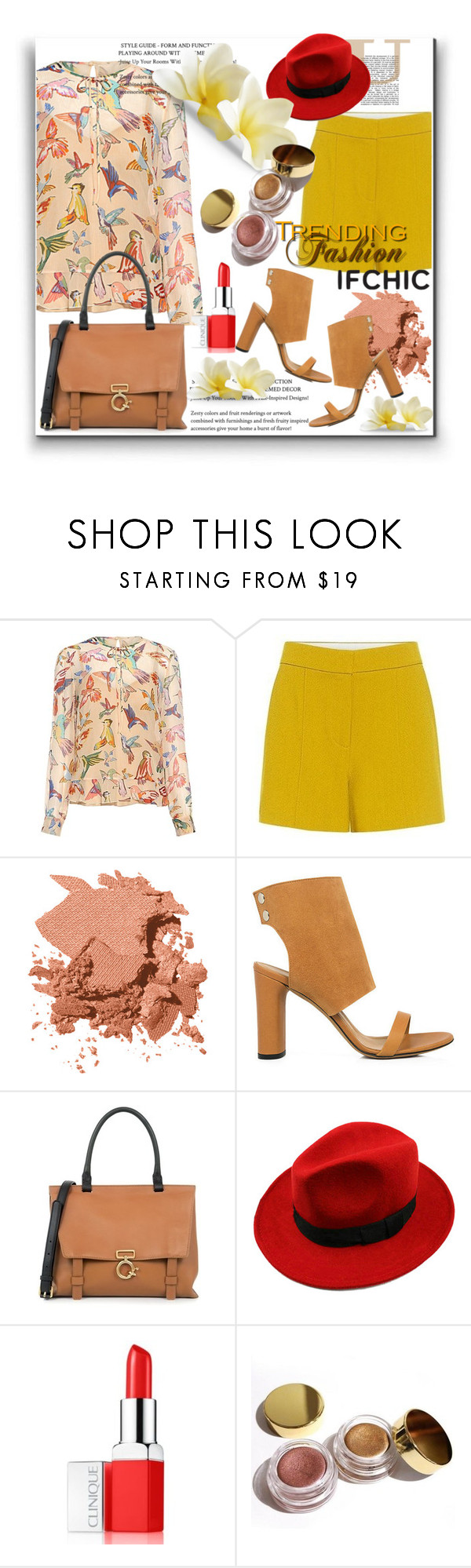 """Summer Sale IFCHIC"" by pesanjsp ❤ liked on Polyvore featuring RED Valentino, A.L.C., Bobbi Brown Cosmetics, IRO, WithChic, Clinique, Kylie Cosmetics, summersale and ifchic"