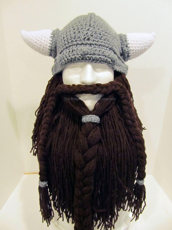 tuque a barbe de viking Tricot Et Crochet, Projets À Essayer, Tricot  Original, ce07cf04bee