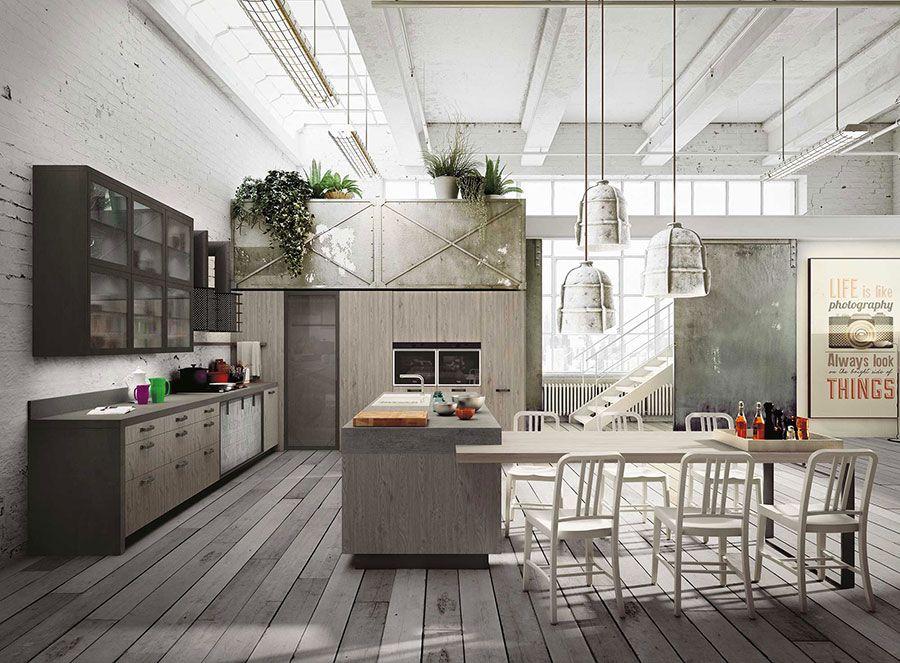 Cucina in legno moderna 17 | Cucine | Pinterest