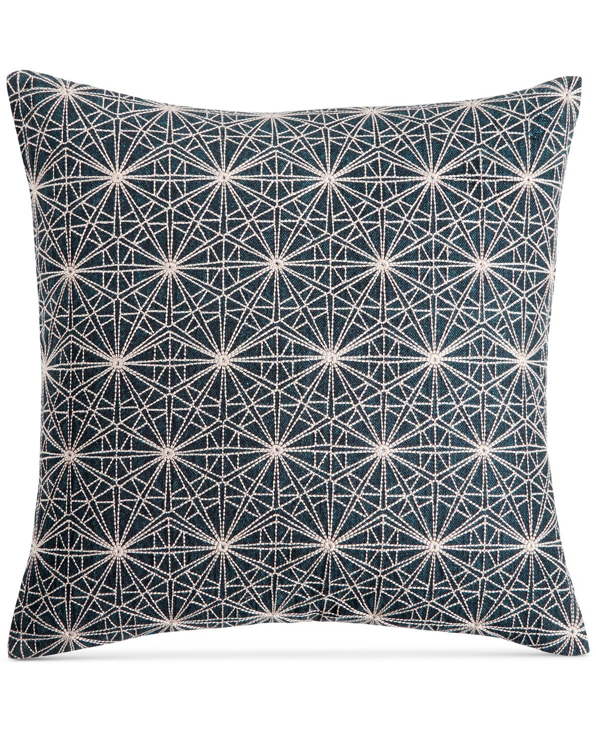 "Macy's Decorative Pillows Classy Hotel Collection Modern Wave 18"" Square Decorative Pillow Created Inspiration Design"