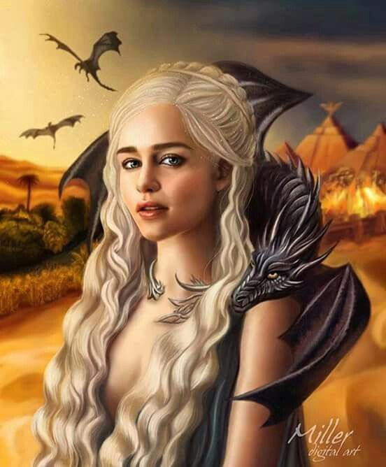 Daenerys Targaryen Mother of Dragons  f19ae78d6c81