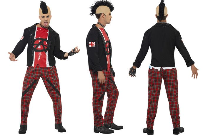 Mr Anarchist 80s Punk Costume for Men  sc 1 st  Pinterest & How to Dress Like an 80s Punk | Punk costume Costumes and Fancy ...