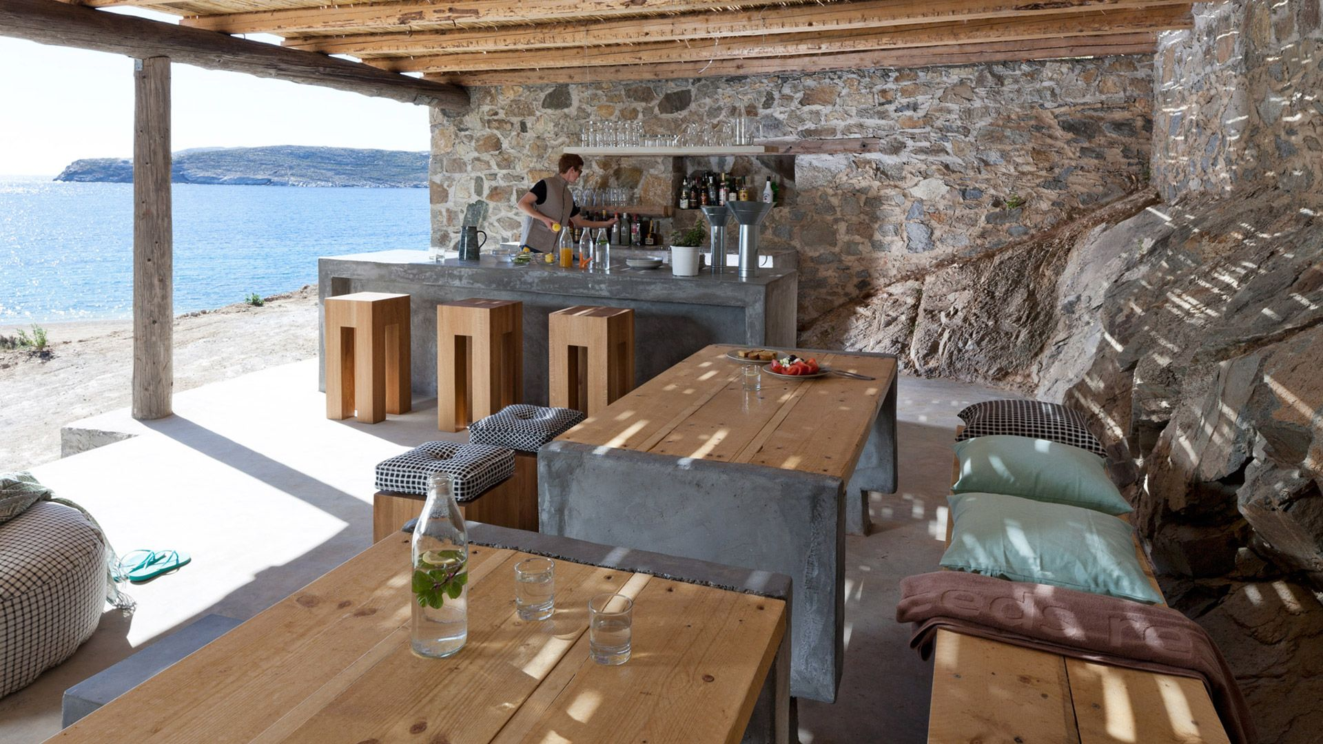 Coco Mat Eco Residences Serifos Hotel Griekenland Vakantie Interieur