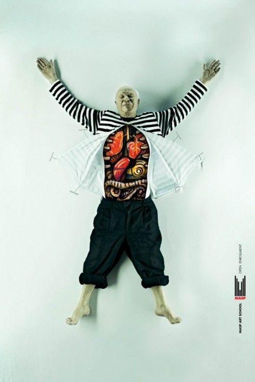 Artist Anatomy - Pablo Picasso #DDBBrazil #pabloPicasso   Creative ...