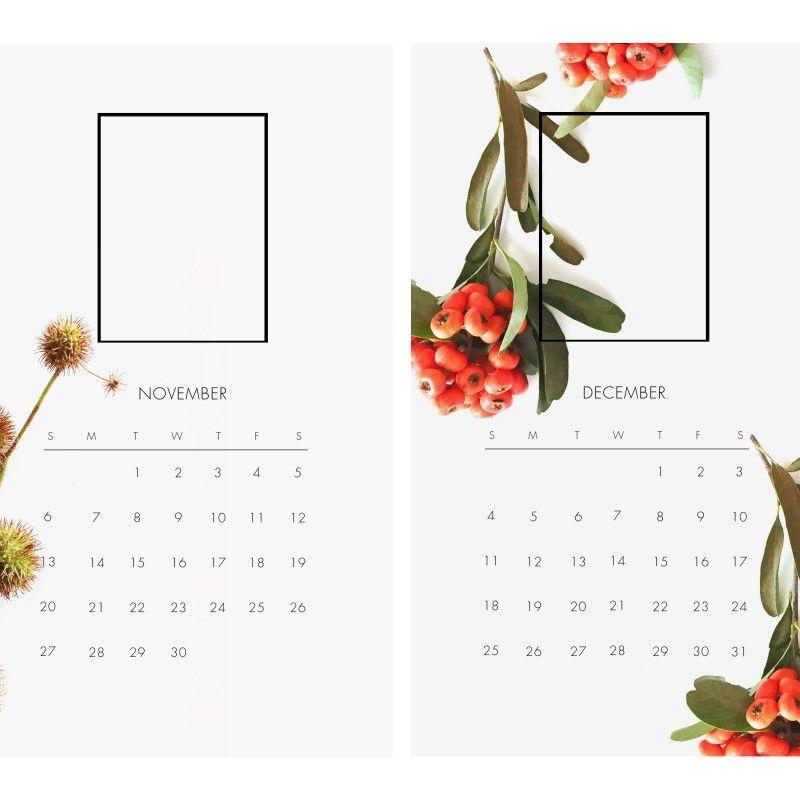 Free Downloadable Instax Calendar, 2016 Fujifilm and Calendars 2016