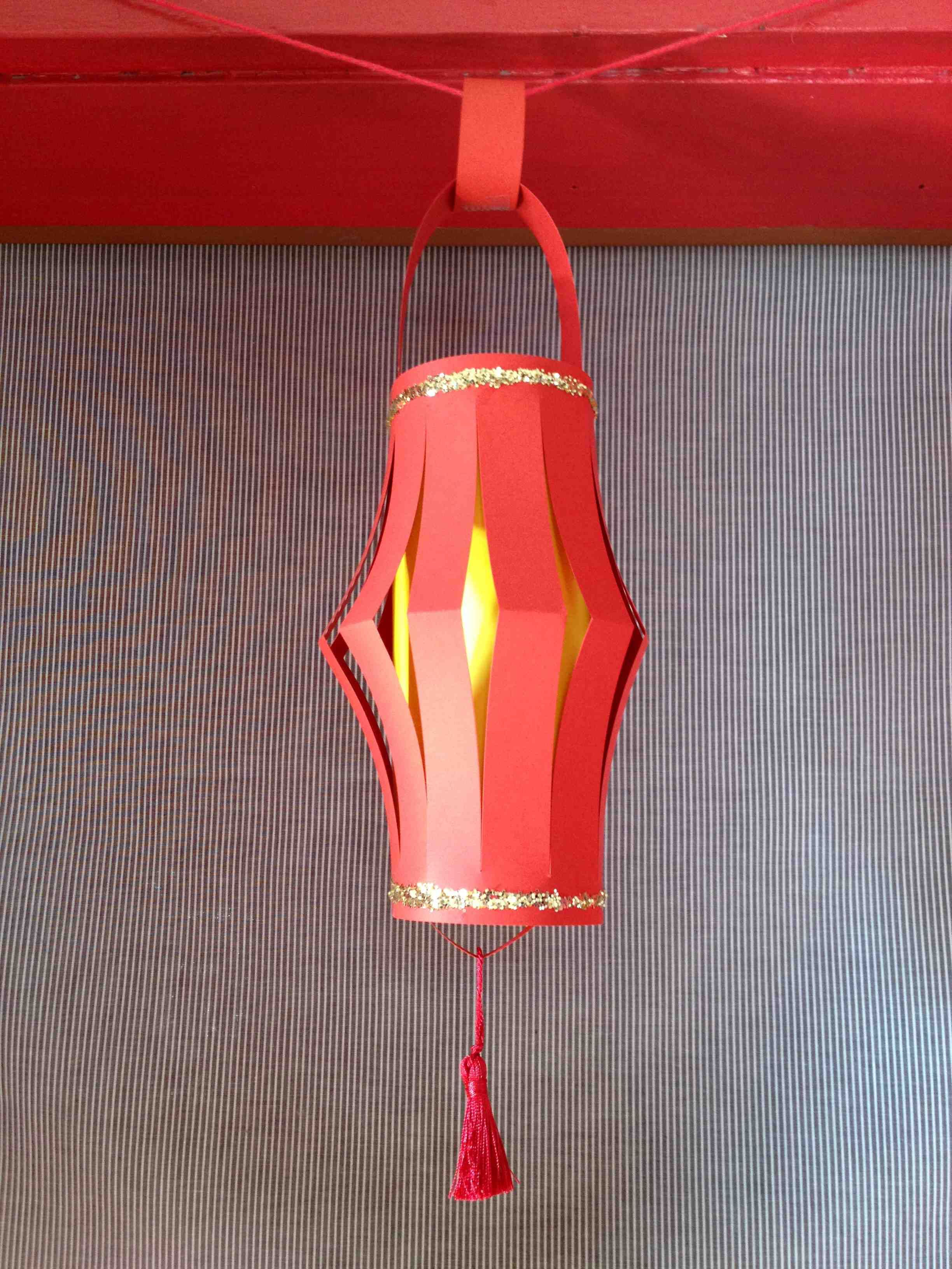 Celebrating The Chinese New Year With A Paper Lantern Craft For Kids