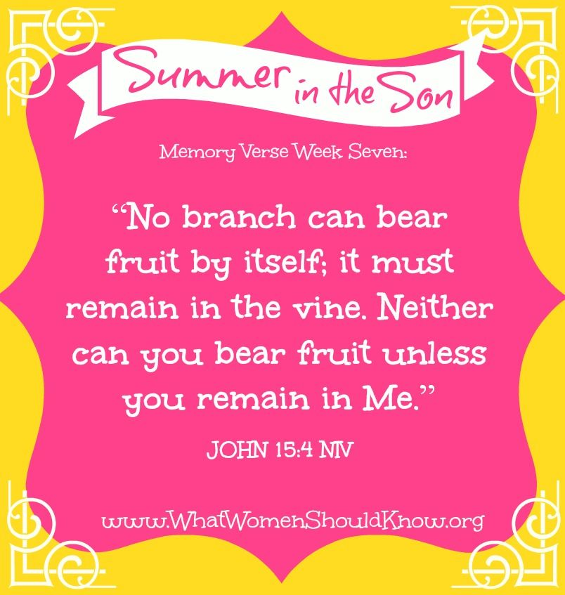 SummerSonV7 What Women Should Know Bible study tips
