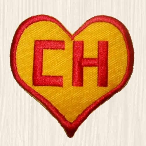 Chapulin Colorado Heart Logo Patch Chest Chespirito Chavo Del 8 Embroidered Heart Logo Patch Logo Sleeve Tattoos