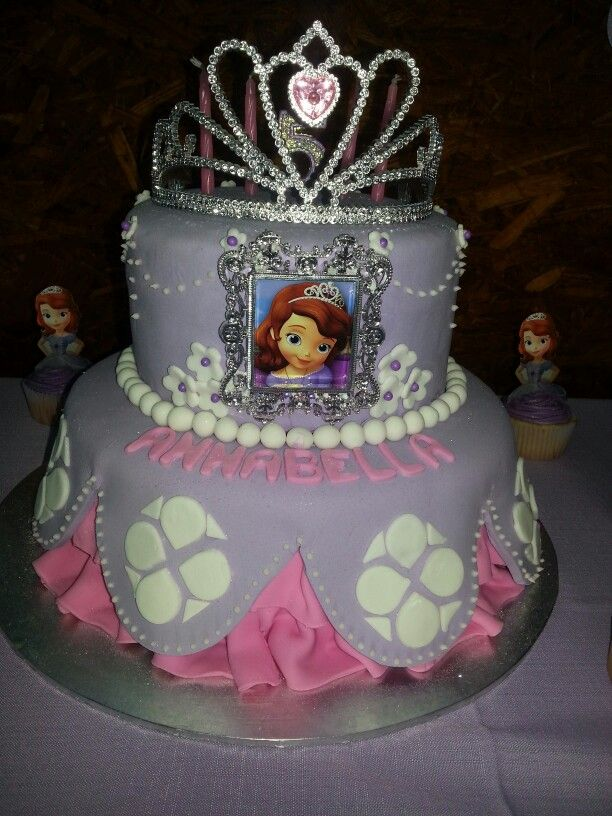 Sofia the first birthday cake Cakes I have made Pinterest