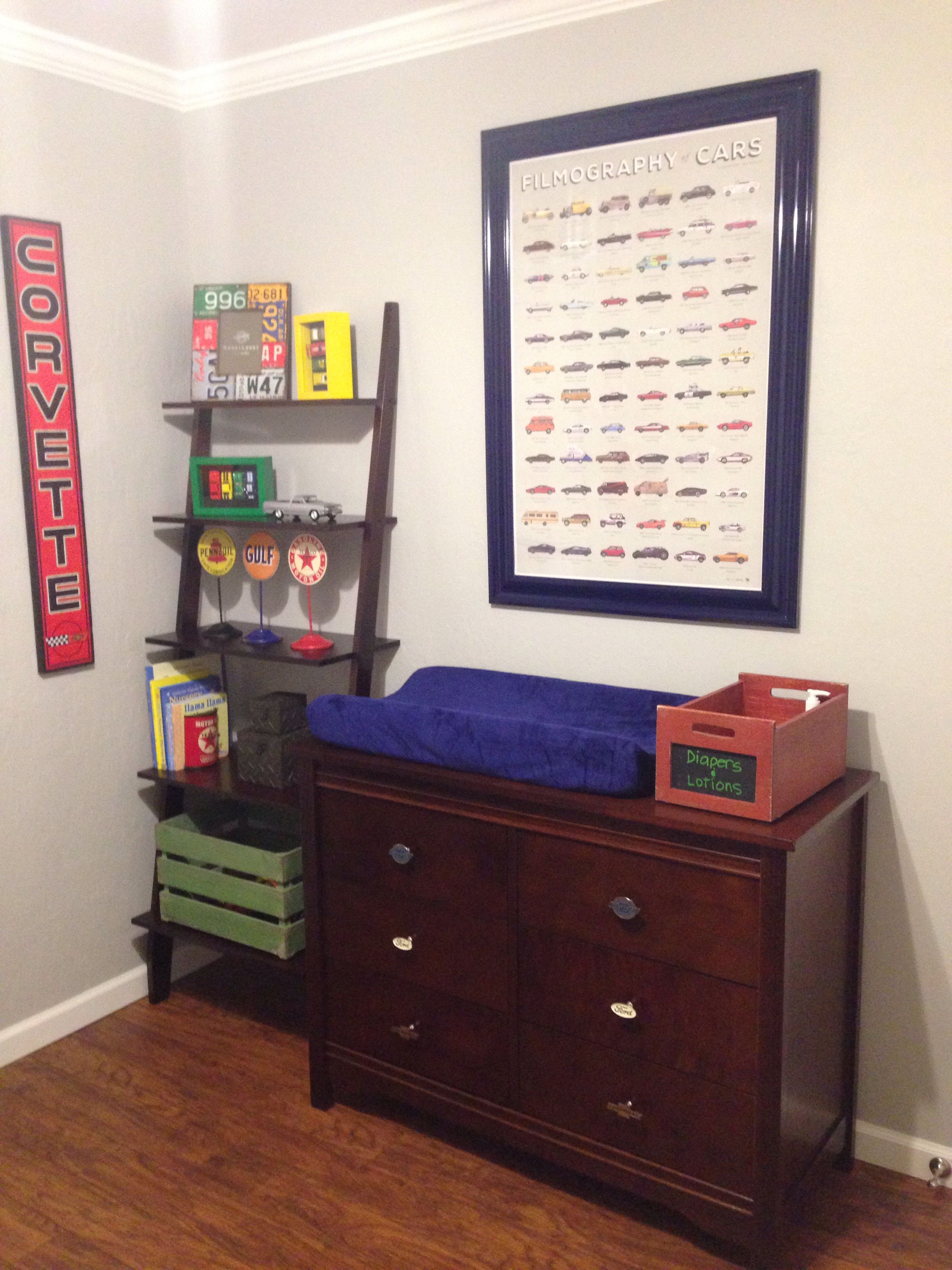 Our Baby Boys Vintage Muscle Car Theme