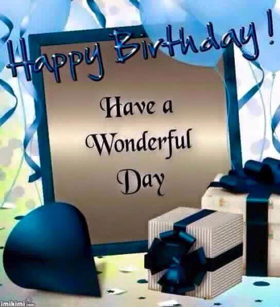 Birthday Happy Birthday Man Birthday Greetings For Men Happy Birthday Blue