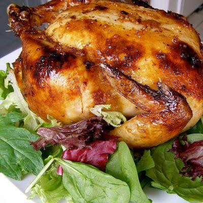 The+Lady+in+the+Apron:+Honey+Garlic+Roast+Chicken