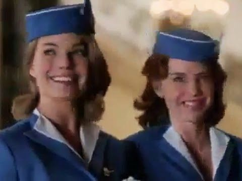 when i grow up i want to be a flight attendant...