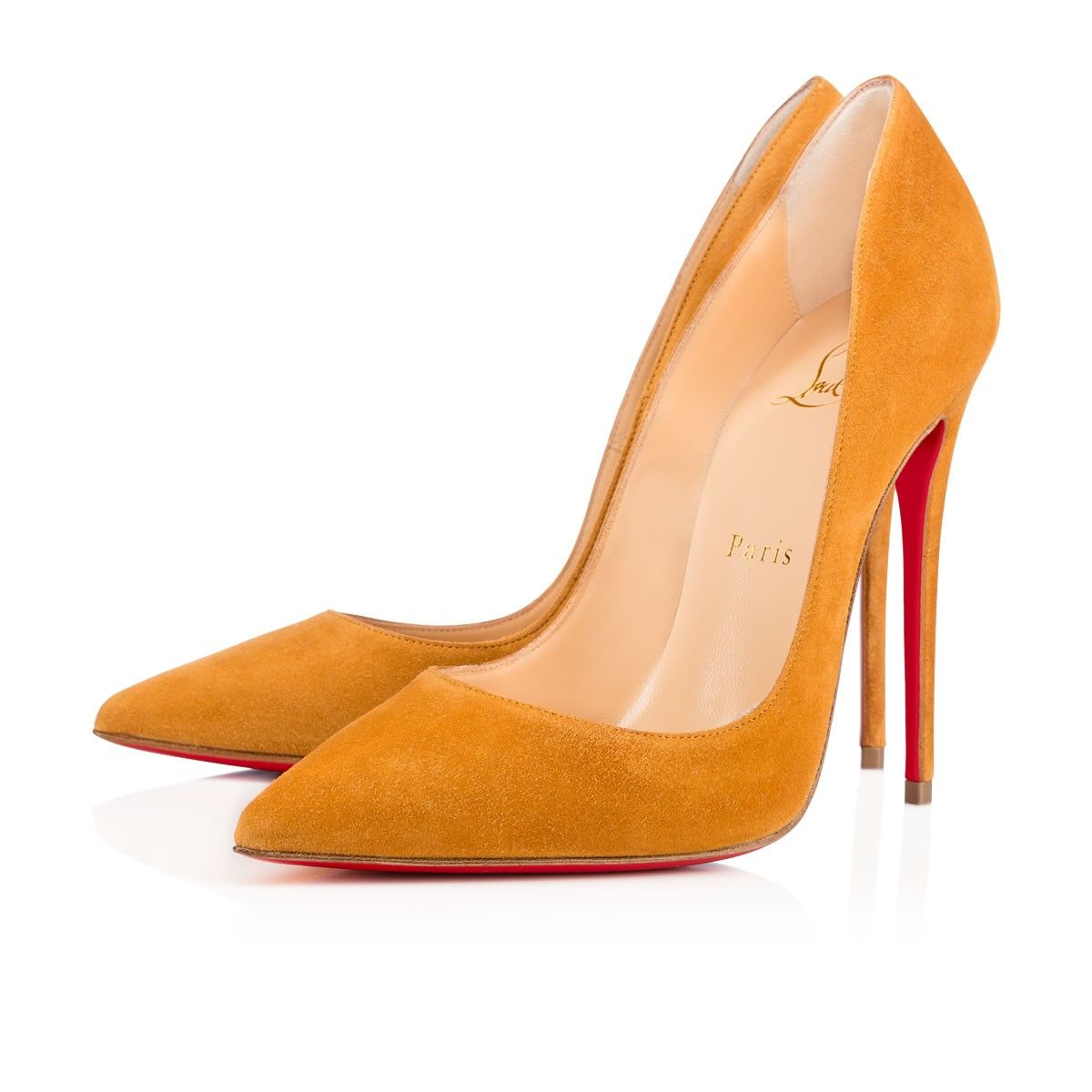 So Kate 120 Patent-leather Pumps - Neutral Christian Louboutin
