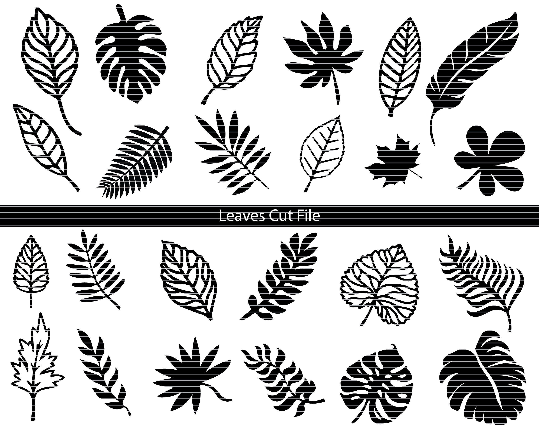 Leaf Svg Cutting File Leaf Vector Svg Image Leaf Files For Cricut Leaf Svg Cutting Image Leaf Cutting Files Leaf Dxf File