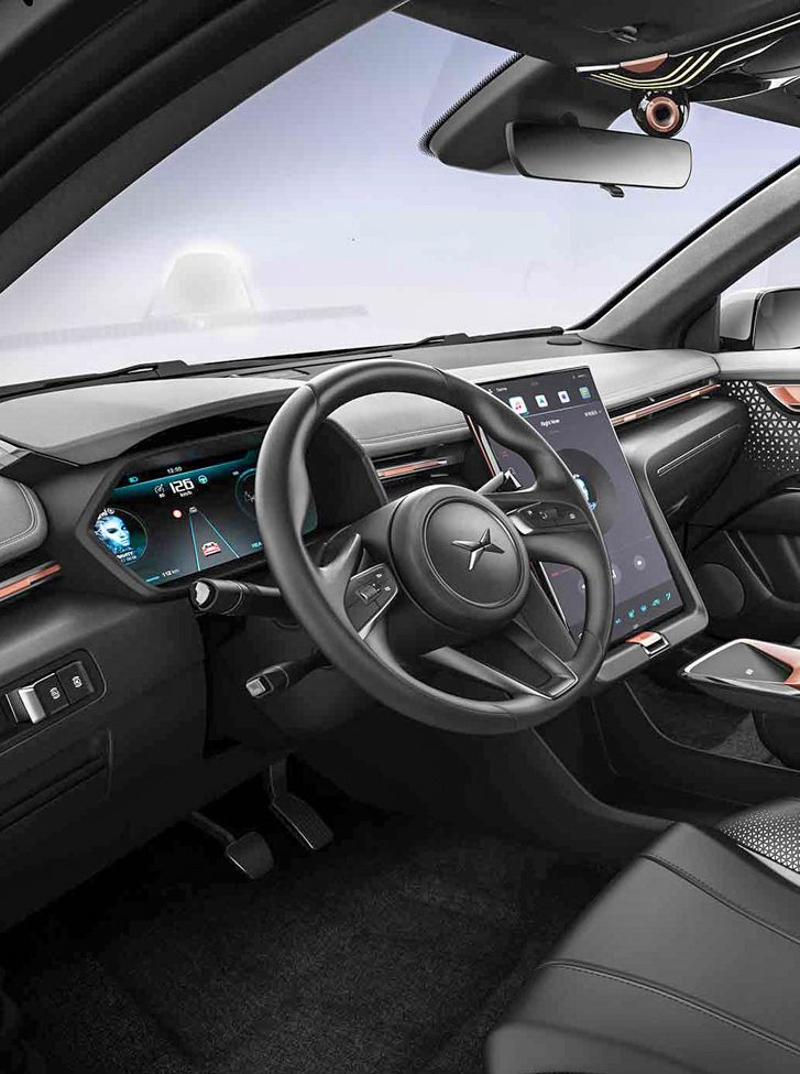 Xiaopeng Auto Electric SUV UI Cluster Full TFT \ Big central - team 7 küchen preise