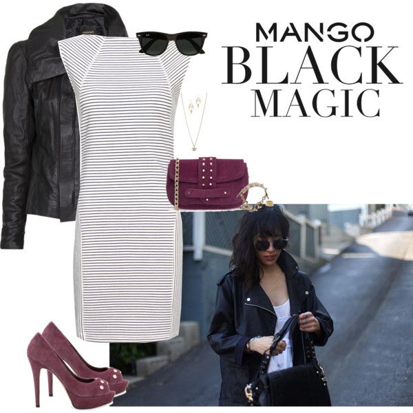 """Winter Aesthetic with Mango and That's Chic"" by smelnikoff on Polyvore"