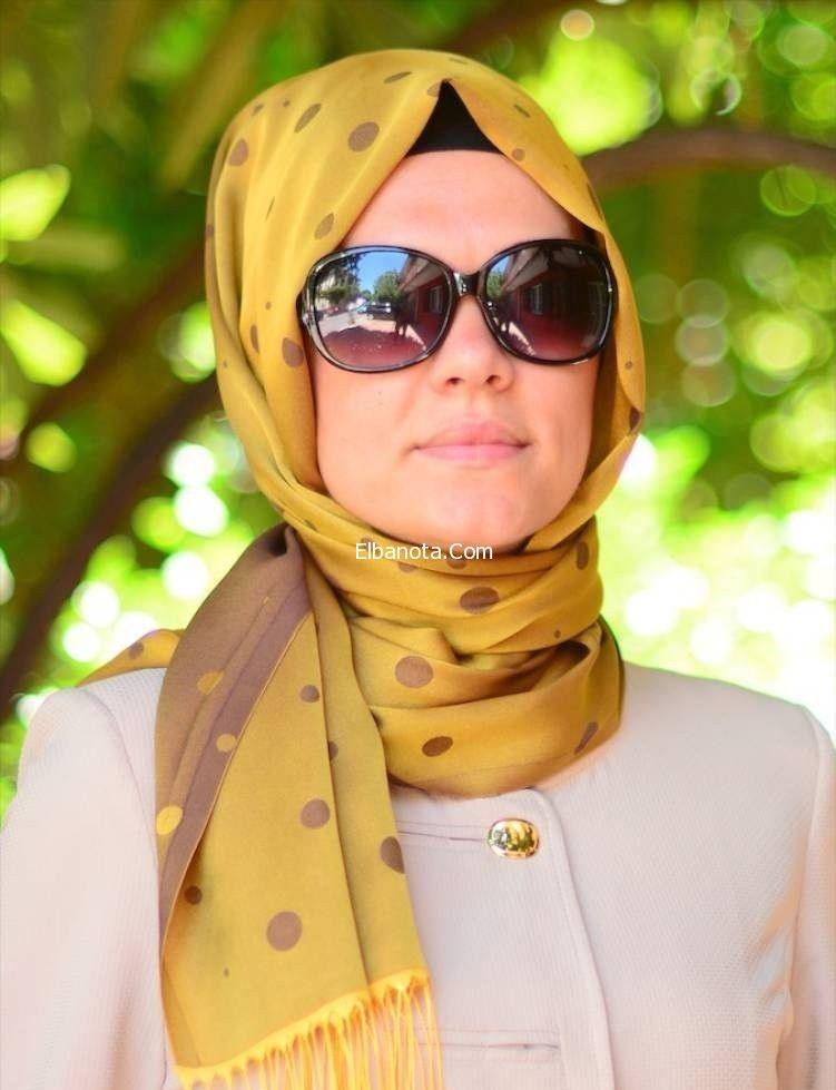 9e0755b83c332 لفات الحجاب بشكل أنيق