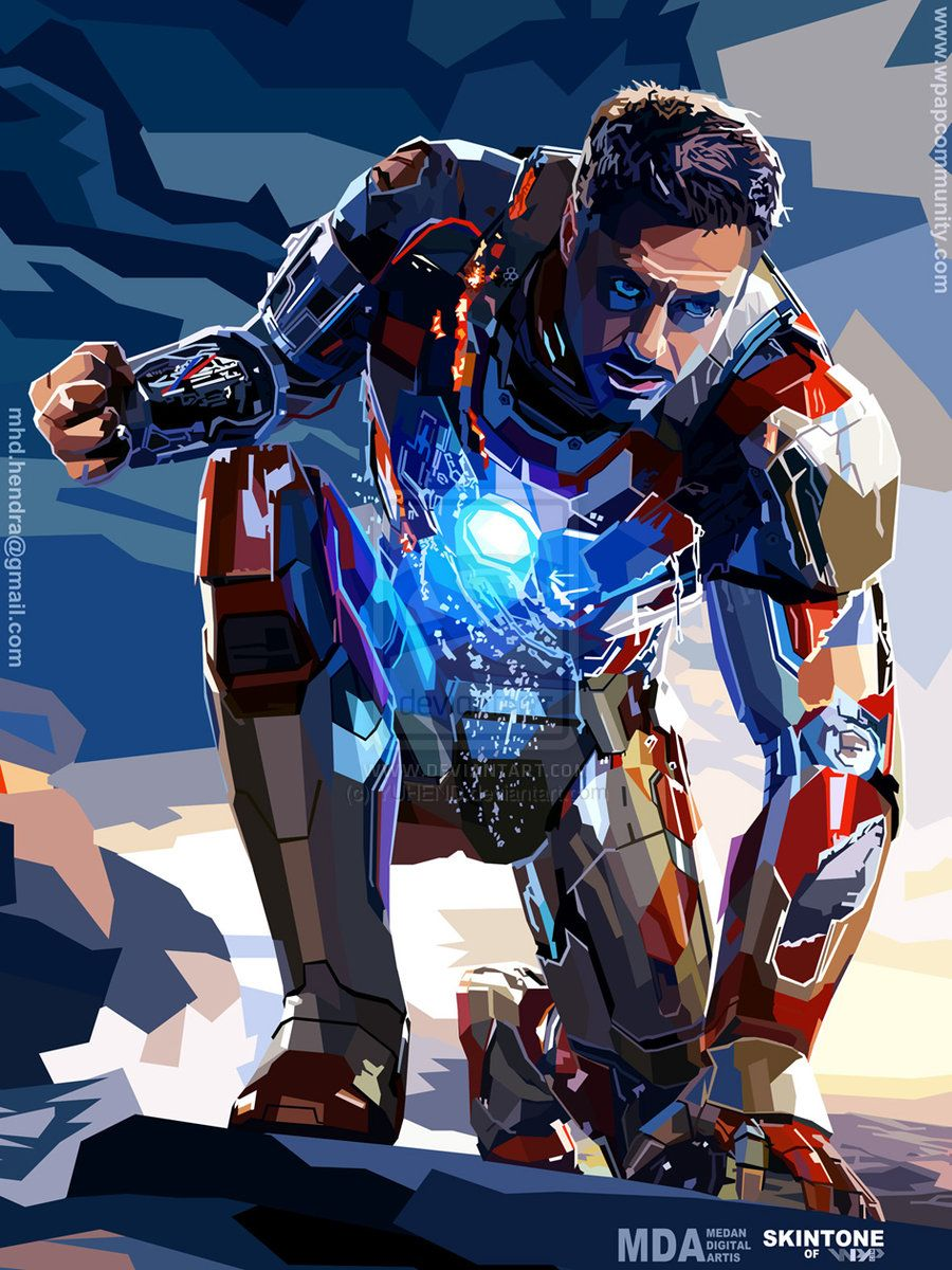 Iron man she says you are a mighty man of strength take