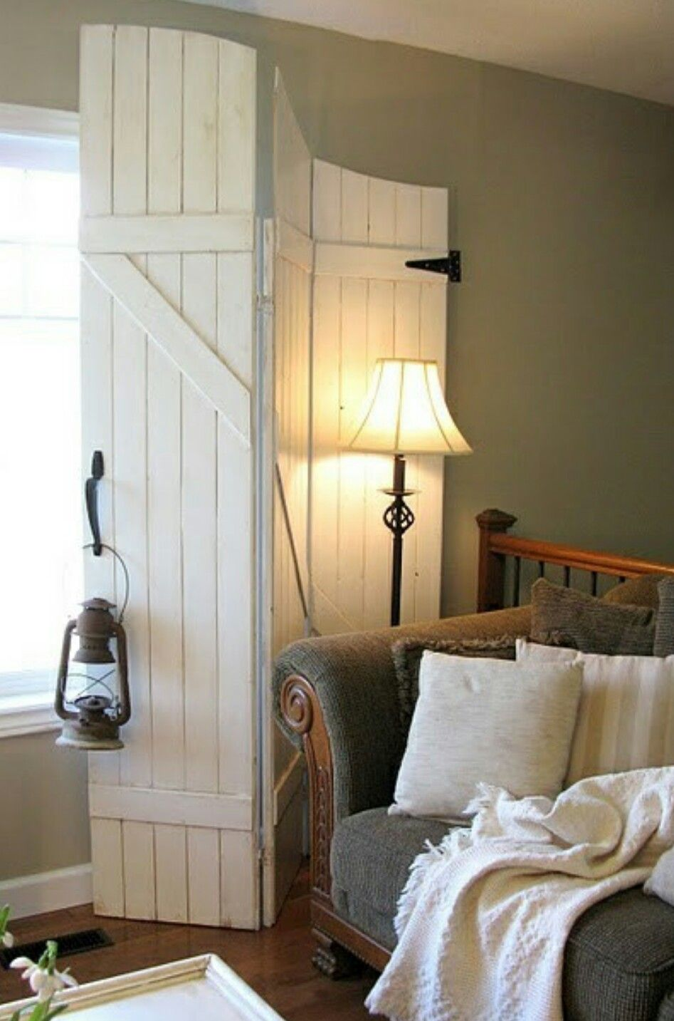 Barn window decor  window covers for inside  all wooden doors  pinterest  wood