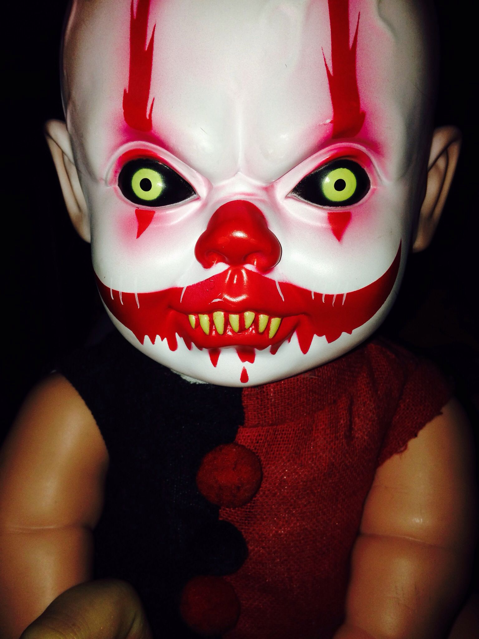 My baby <3 creepy clown doll | Twisted Circus | Pinterest | Babies ...