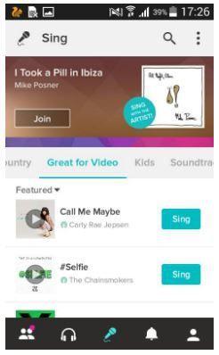 Smule Dengan Fitur Karaoke Online Mencari Semua Lagu Aplikasi