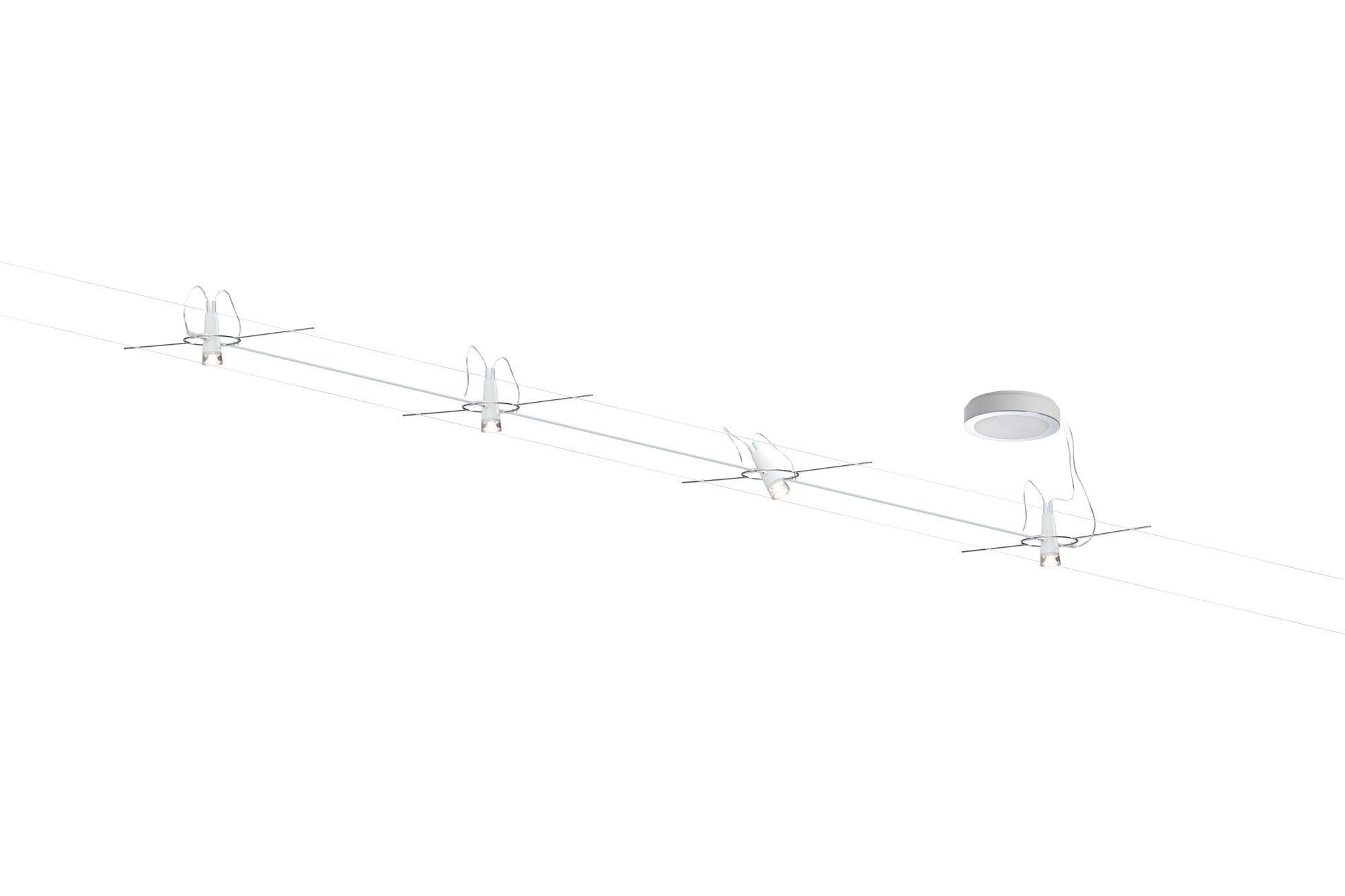Fabulous  Schienen Seilsysteme Paulmann Paulmann Drum Innenraum Oberfl che LED Wei II