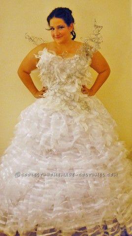 Homemade Wedding Dress for Halloween