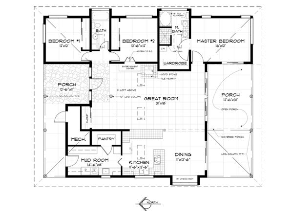 Off The Grid House Floor Plans Gurus Floor