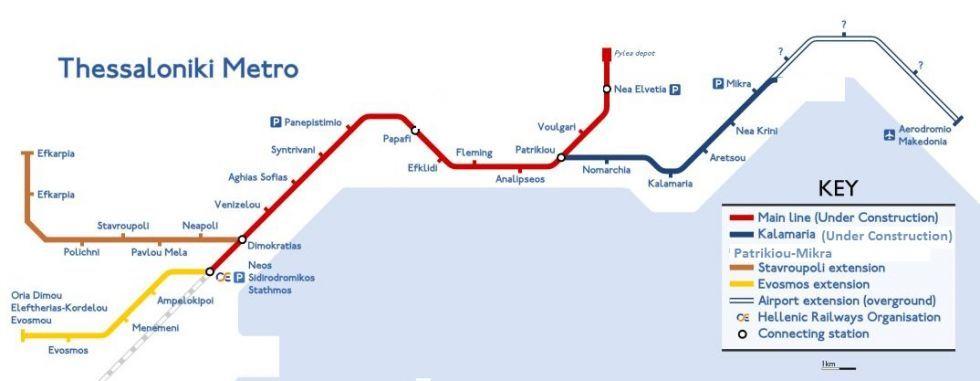 Metro 8essalonikhs Sto Paketo Gioynker Oi Epektaseis Pros