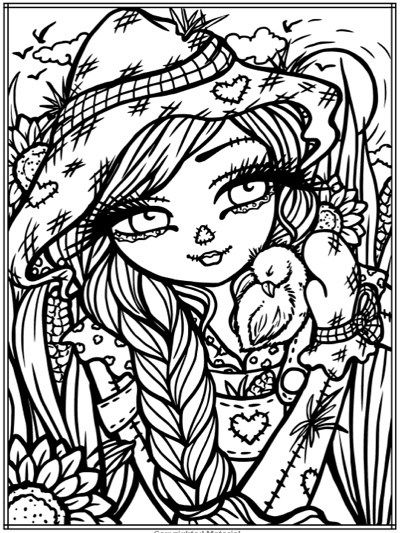 Best Halloween Coloring Books for Adults | coloring pages ...