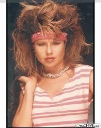 80's bikini modek
