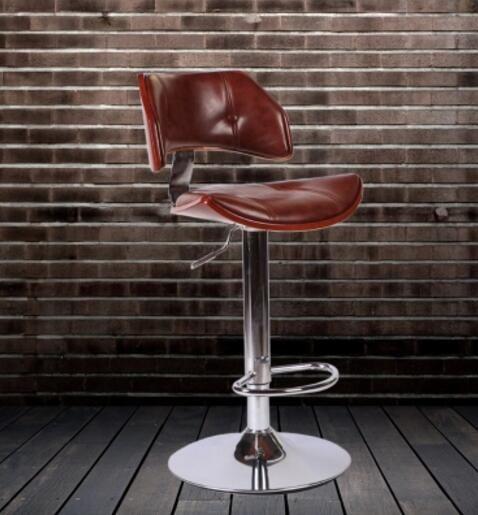 High End Fashion Solid Wood Chair The Bar Chair High Chairs Solid Wood Chairs Bar Chairs Chair
